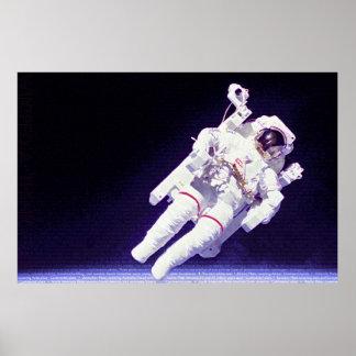 Staat-Astronaut Plakatdruck