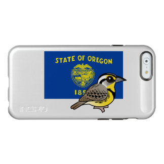 Staat Birdorable von Oregon: Western Meadowlark Incipio Feather® Shine iPhone 6 Hülle