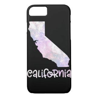 Staat CA Kalifornien schillerndes opalisierendes iPhone 8/7 Hülle