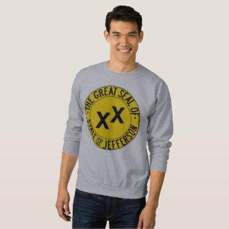 Staat des Jefferson-Schweiss-Shirts Sweatshirt