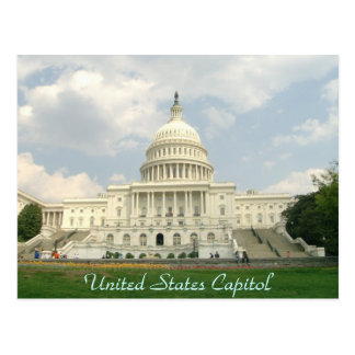 Staat-Hauptstadts-Postkarte Postkarte