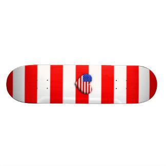 Staat-Herz-Flagge Skateboard Bretter