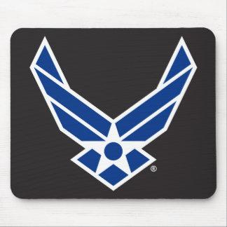 Staat-Luftwaffen-Logo - Blau Mousepads