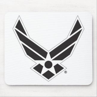 Staat-Luftwaffen-Logo - Schwarzes Mousepads