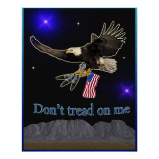Staat-Militär Eagle Poster