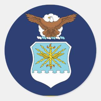Staat-Minister für der Luftwaffe Runder Sticker