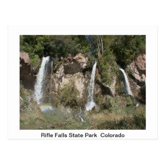 Staat parkt Postkarte