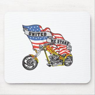 Staat-Radfahrer Mousepad