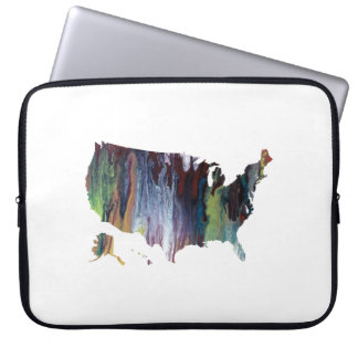 Staat-Silhouette Laptop Sleeve