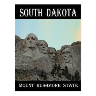 Staat South Dakota der Mount Rushmore Postkarte