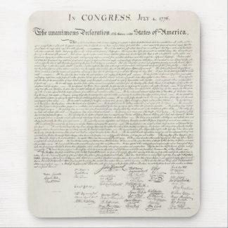 Staat-Unabhängigkeitserklärung Mousepad