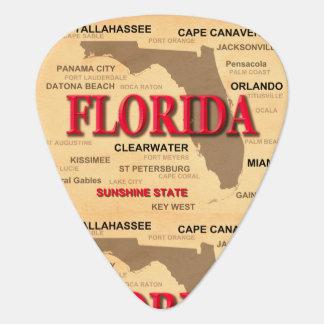 Staat von Florida-Karte, Miami, Orlando, Key West Plektrum