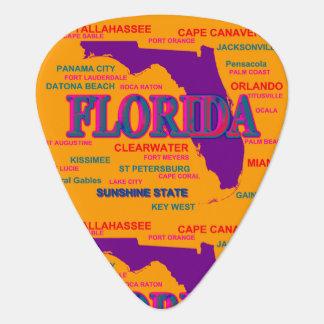 Staat von Florida-Karte, Miami, Orlando Plektron