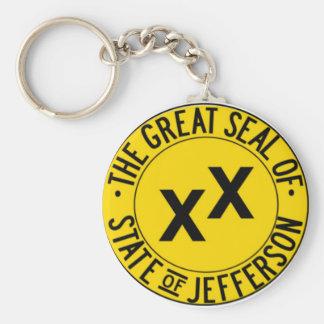 Staat von Jefferson Schlüsselanhänger