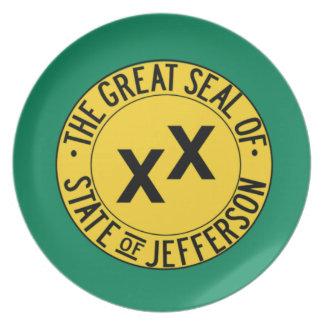 Staat von Jefferson Teller