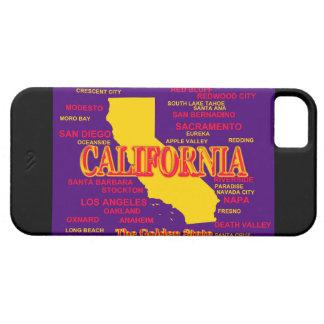 Staat von Kalifornien-Karte, Los Angeles, San Barely There iPhone 5 Hülle