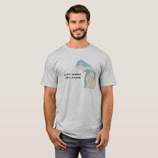 Staat von Michigan-T - Shirt - Wasser 41,5%!