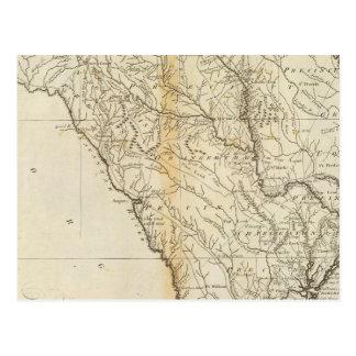 Staat von South Carolina Postkarte