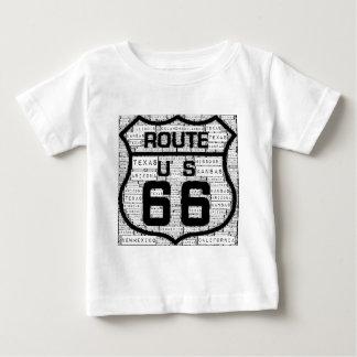 Staaten des Weg-66 Baby T-shirt