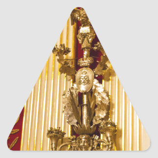 Staats-Einsiedlerei-Museum St Petersburg Russland Dreieckiger Aufkleber