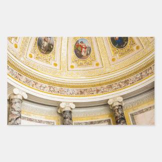 Staats-Einsiedlerei-Museum St Petersburg Russland Rechteckiger Aufkleber