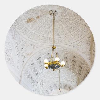 Staats-Einsiedlerei-Museum St Petersburg Russland Runder Aufkleber