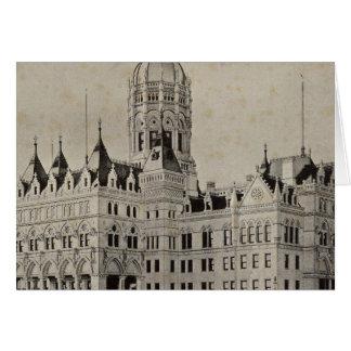 Staats-Hauptstadt, Hartford Karte