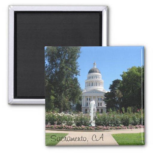 Staats-Hauptstadt, Sacramento, CA Kühlschrankmagnete