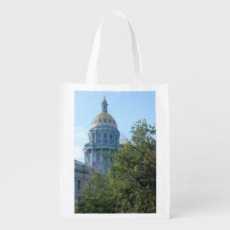 Staats-Hauptstadt Wiederverwendbare Einkaufstasche