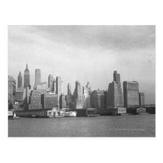 Staats-New York Cityskyline USA New York Postkarte