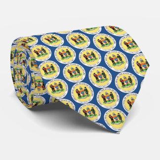 Staats-Siegel von Delaware Krawatte