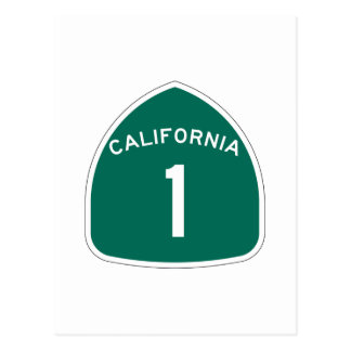 Staats-Weg 1, Kalifornien, USA Postkarten