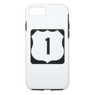Staats-Weg 1, xxxx, USA iPhone 7 Hülle