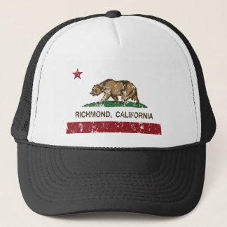 Staatsflagge Richmonds Kalifornien Truckerkappe