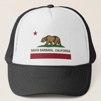 Staatsflagge Santa Barbara Kalifornien Truckerkappe