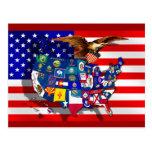 Staatsflagge USA Amerika