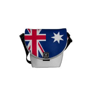 Staatsflagge von Australien Kuriertasche