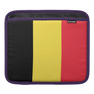Staatsflagge von Belgien iPad Sleeve