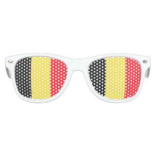 Staatsflagge von Belgien Sonnenbrille