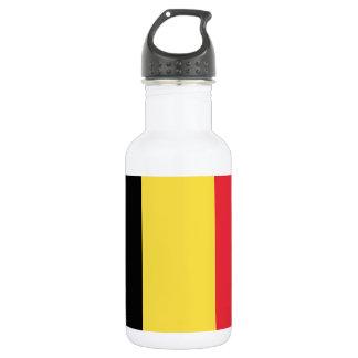 Staatsflagge von Belgien Trinkflasche
