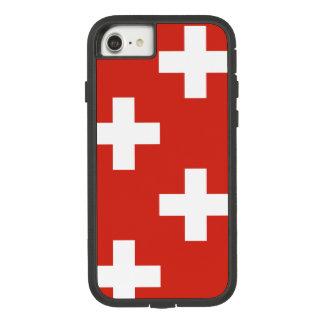 Staatsflagge von der Schweiz Case-Mate Tough Extreme iPhone 8/7 Hülle