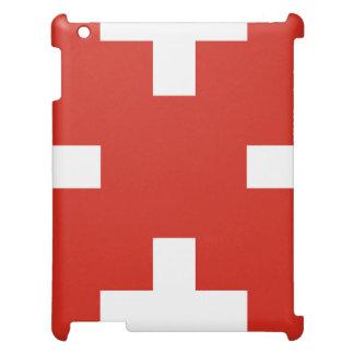 Staatsflagge von der Schweiz iPad Schale