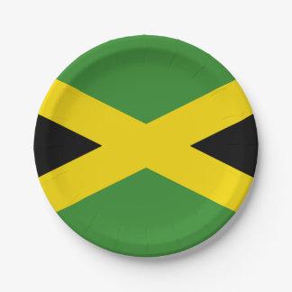 Staatsflagge von Jamaika Pappteller