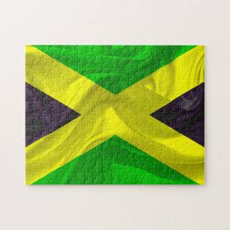 Staatsflagge von Jamaika Puzzle