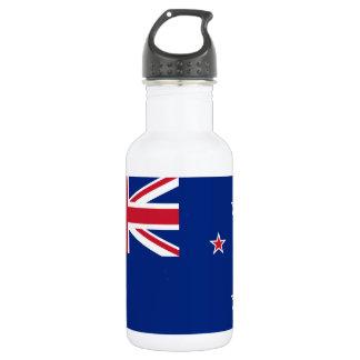 Staatsflagge von Neuseeland Edelstahlflasche