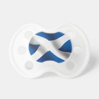 Staatsflagge von Schottland u. von St Andrew Schnuller