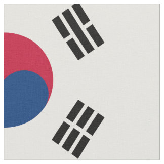 Staatsflagge von Südkorea Stoff