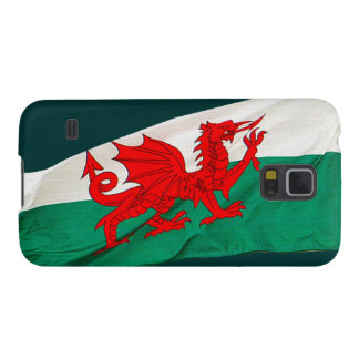 Staatsflagge von Wales, der rote Drache Galaxy S5 Hülle