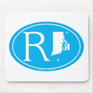 Staatsstolz-Euro: RI Rhode Island Mousepad