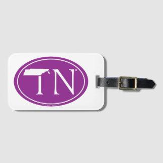 Staatsstolz-Euro: TN Tennesse Gepäckanhänger